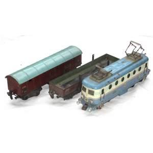 Merkur lokomotiva a vagony O