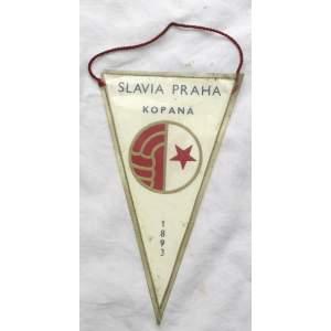 Slavia Praha kopaná - vlaječka