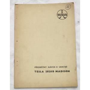 Radio Tesla 2828B Madison - návod k údržbě