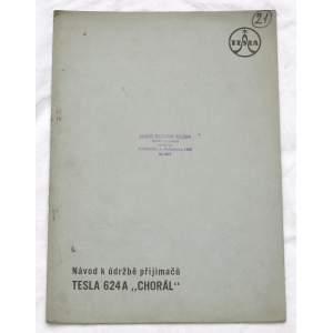 Radio Tesla 624A Chorál - návod k údržbě