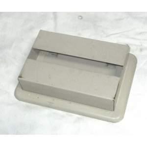 Zásobník držák na skládaný toaletní papír retro