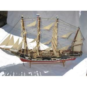 Dřevěná plachetnice