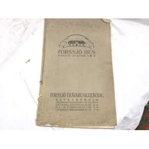 Forssjo Hus-švédský katalog dřevěnných domů
