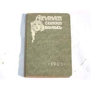 Almanach českých divadel 1909
