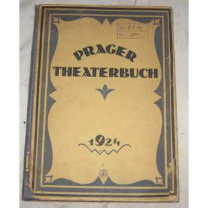 Prager theaterbuch 1924