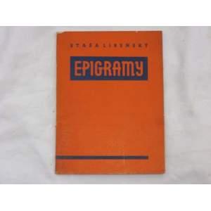 Epigramy-Staša Libeňský 1937