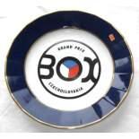 Box Grand prix Czechoslovakia - pamětní talíř