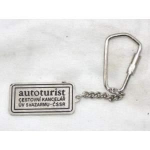 Autoturist cestovní kancelář - přívěšek na klíče