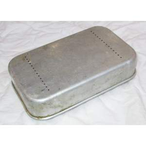 Chlebník hliníkový retro