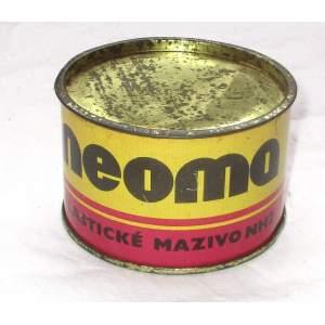 NEOMA - plechovka od maziva