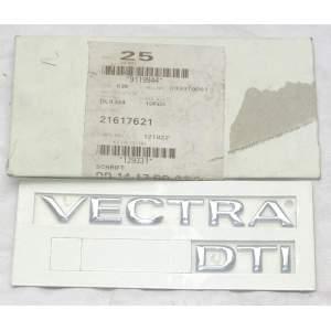 Opel Vectra DTI - nápis na dveře kufru